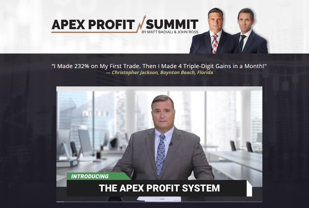 Apex Profit Summit video