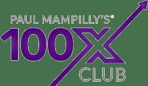100x club logo
