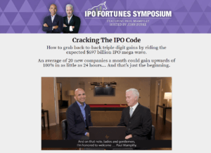 IPO Fortunes Symposium