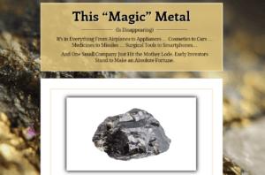 Magic Metal video