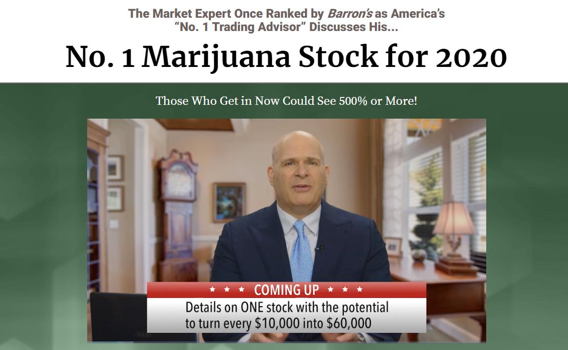 No. 1 Marijuana Stock for 2020
