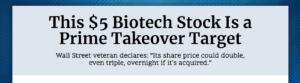 The $5 Biotech Stock Revolutionizing Health Care