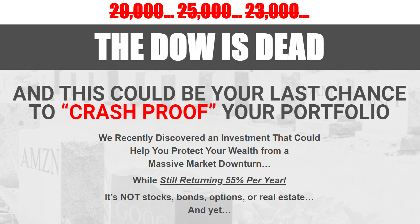 The DOW Is Dead