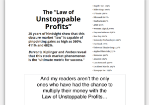 The Law of Unstoppable Profits video