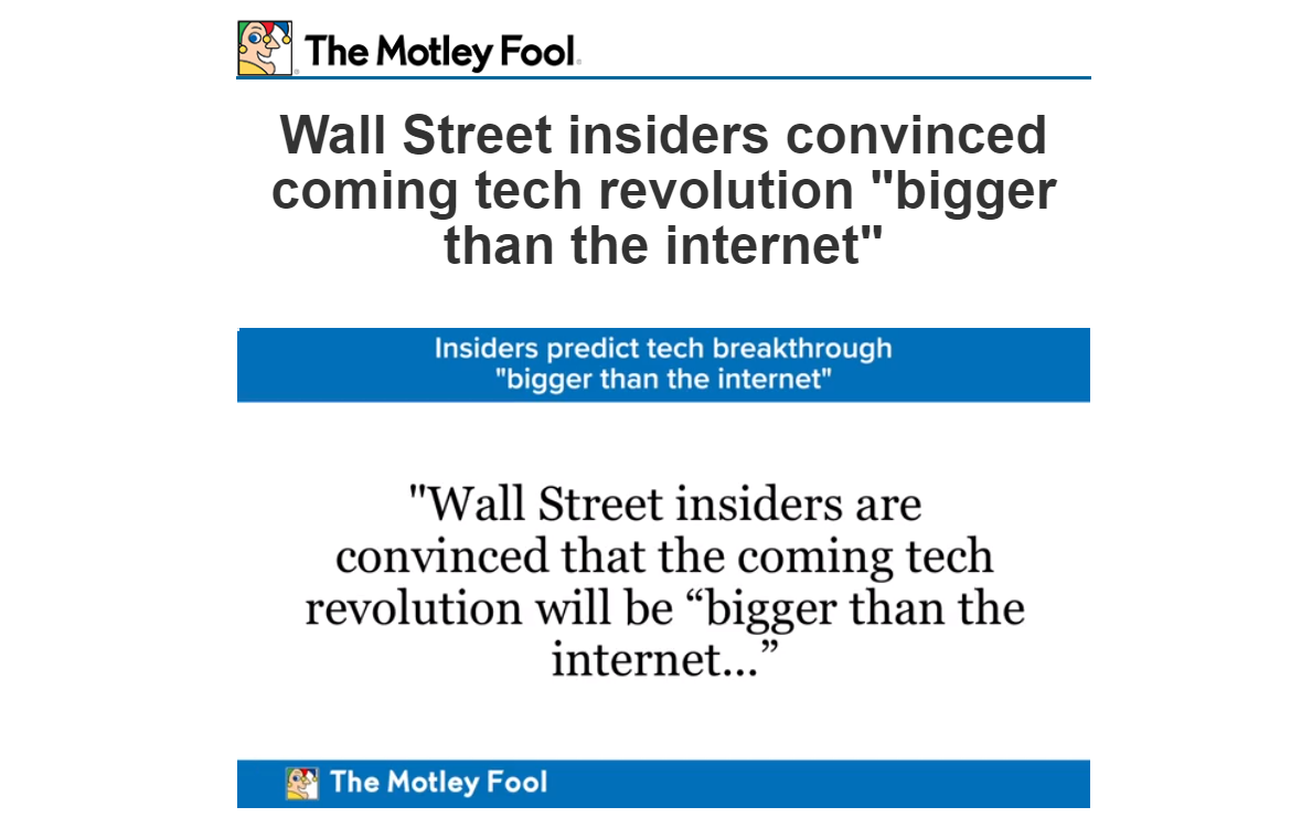 motley fool bigger than the internet video