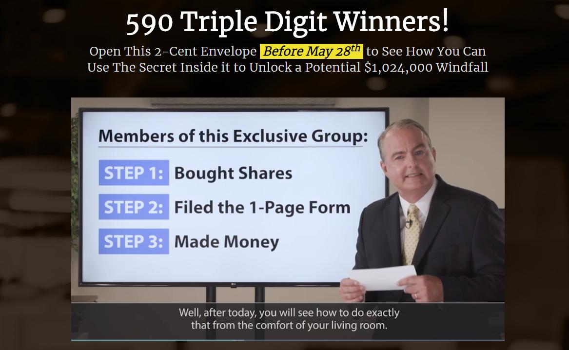 590 Triple Digit Winners