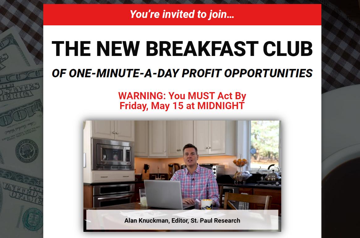 Alan Knuckman The New Breakfast Club