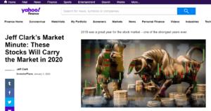 Jeff Clarks Market Minute Yahoo Finance