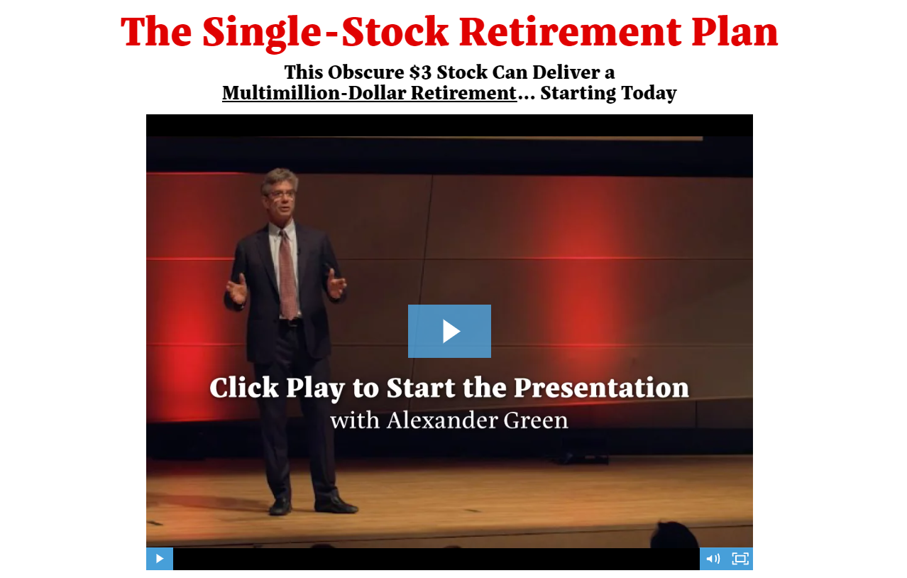 The Single-Stock Retirement Plan