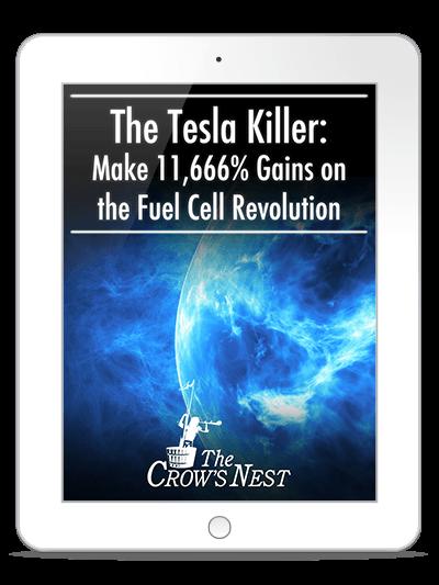 The Tesla Killer - Make 11,666% Gains on the Fuel Cell Revolution