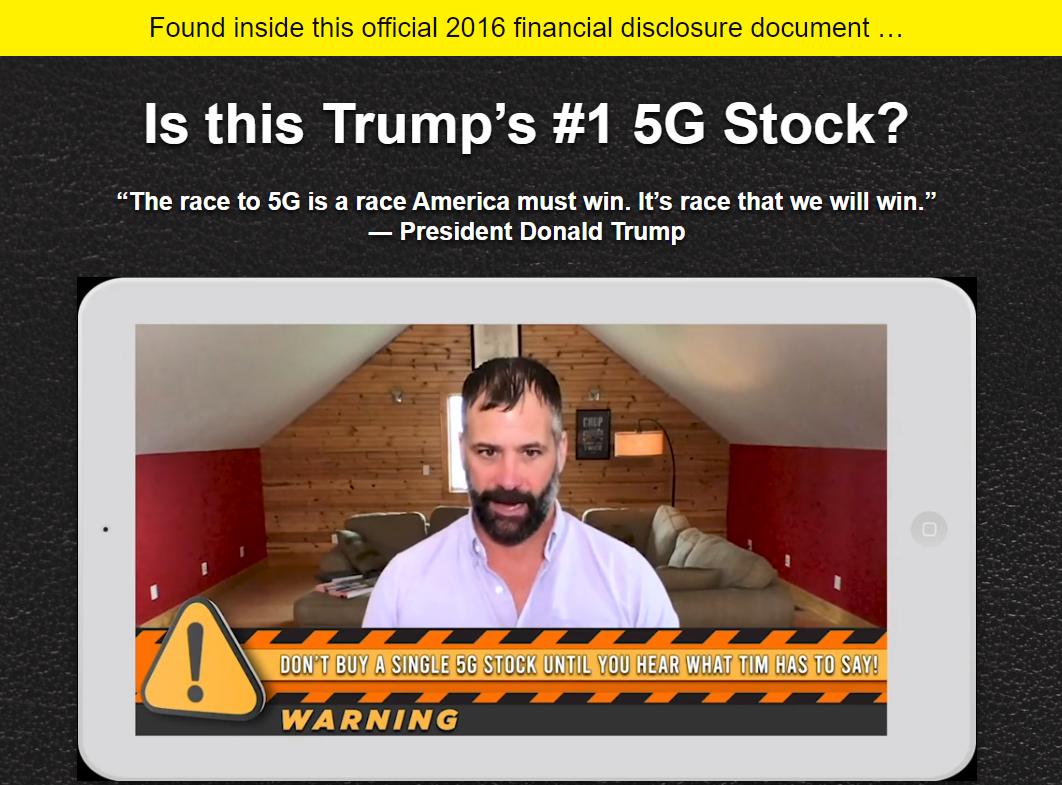 Trump's #1 5G Stock video