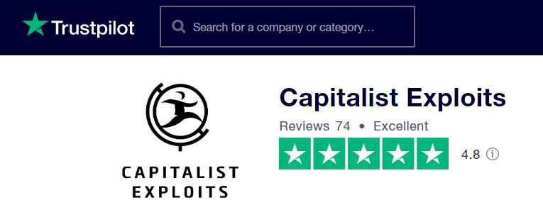 Capitalist Exploits trustpilot
