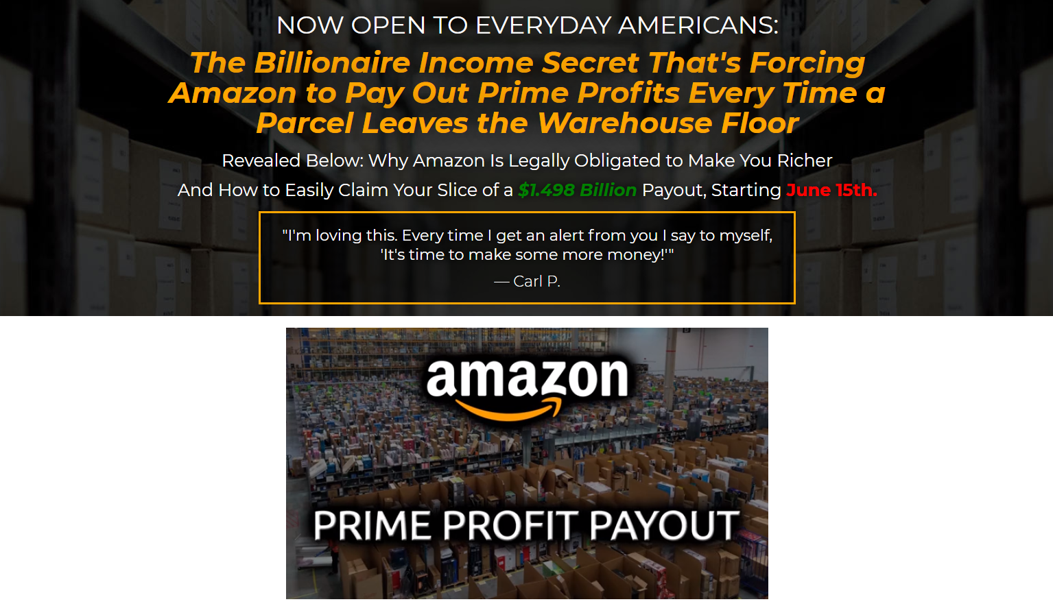 Prime Profit Payout video