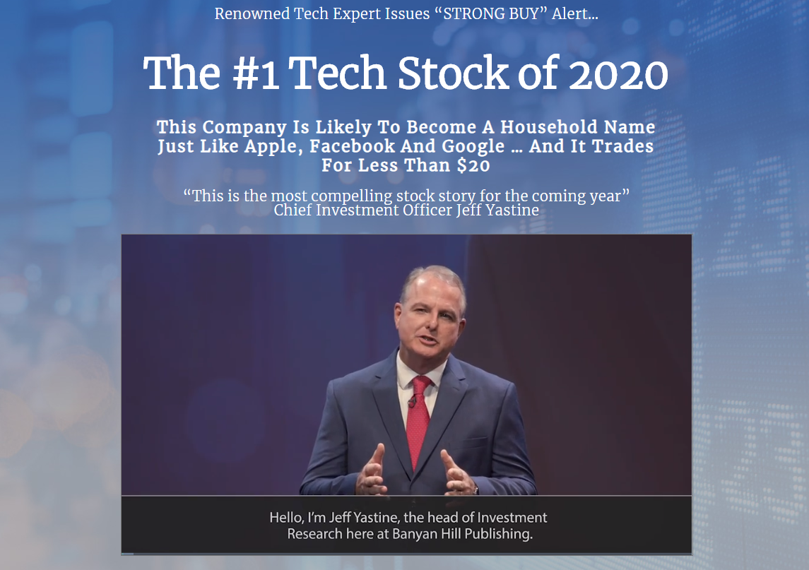The #1 Tech Stock of 2020 video