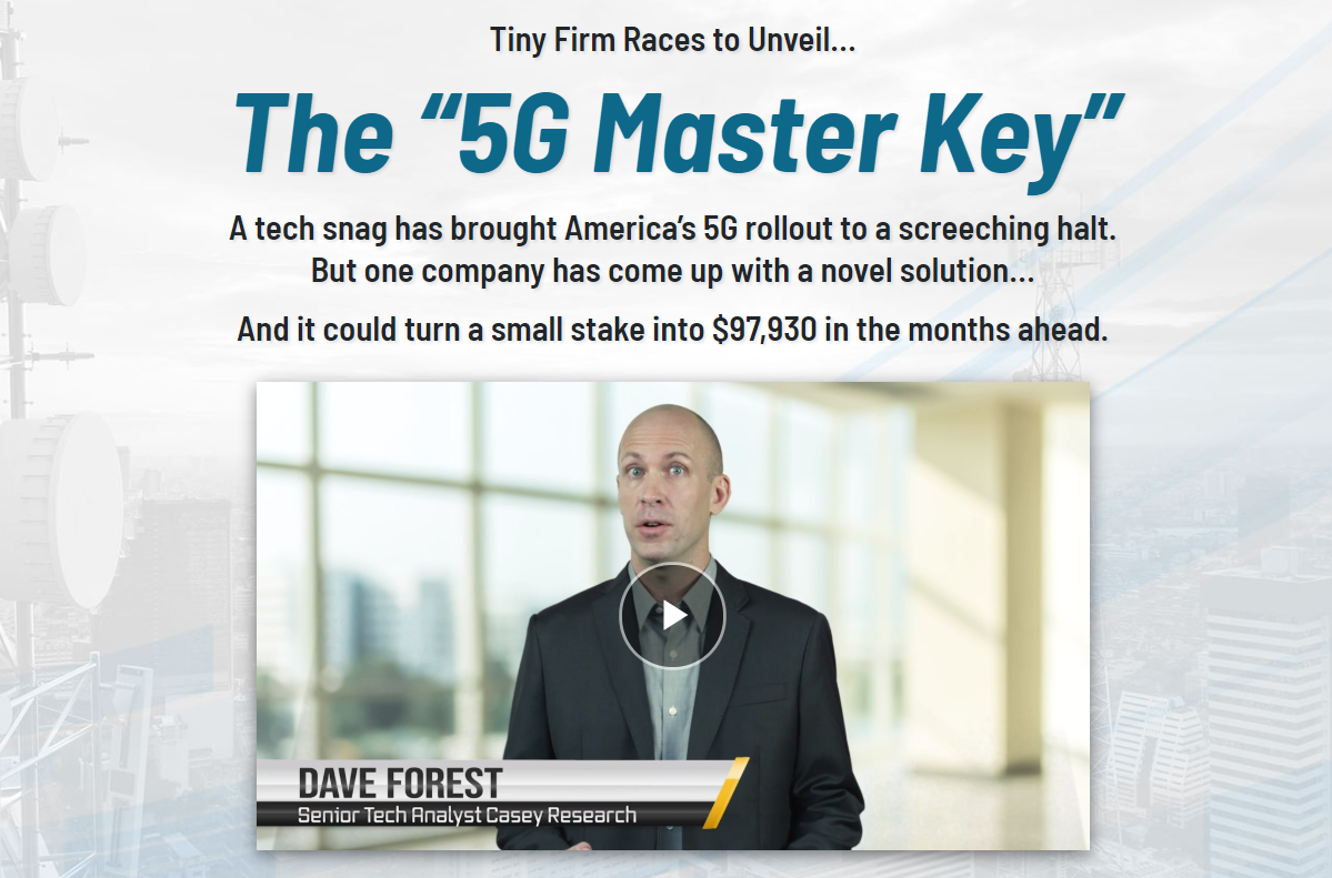 Dave Forest 5G Master Key