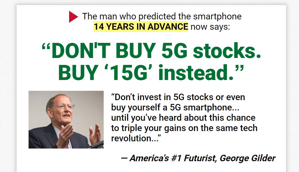 George Gilder 15G