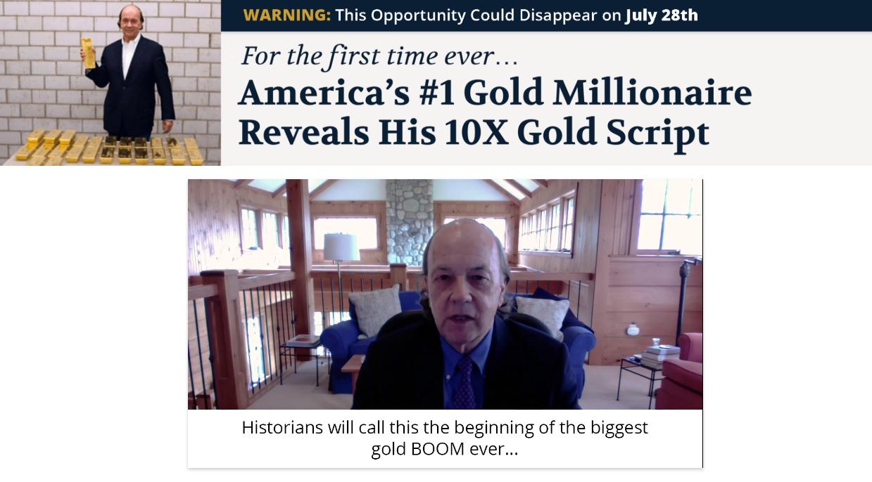 Jim Rickards 10x gold script