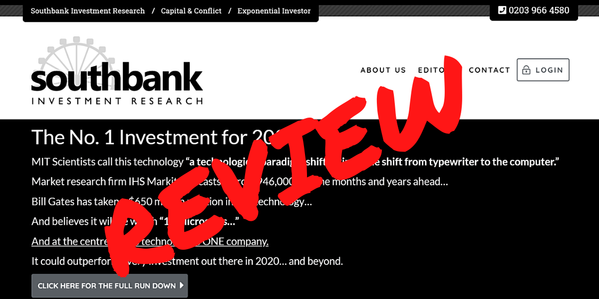 Southbank Investment Research Review