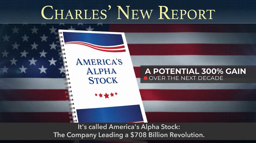 America's Alpha Stock - The Company Leading a $708 Billion Revolution