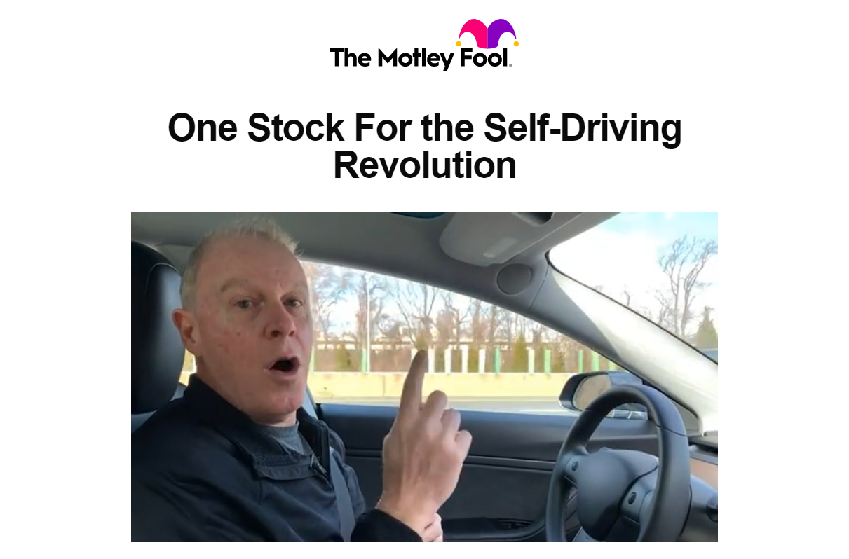 One Stock for the Self-Driving Revolution